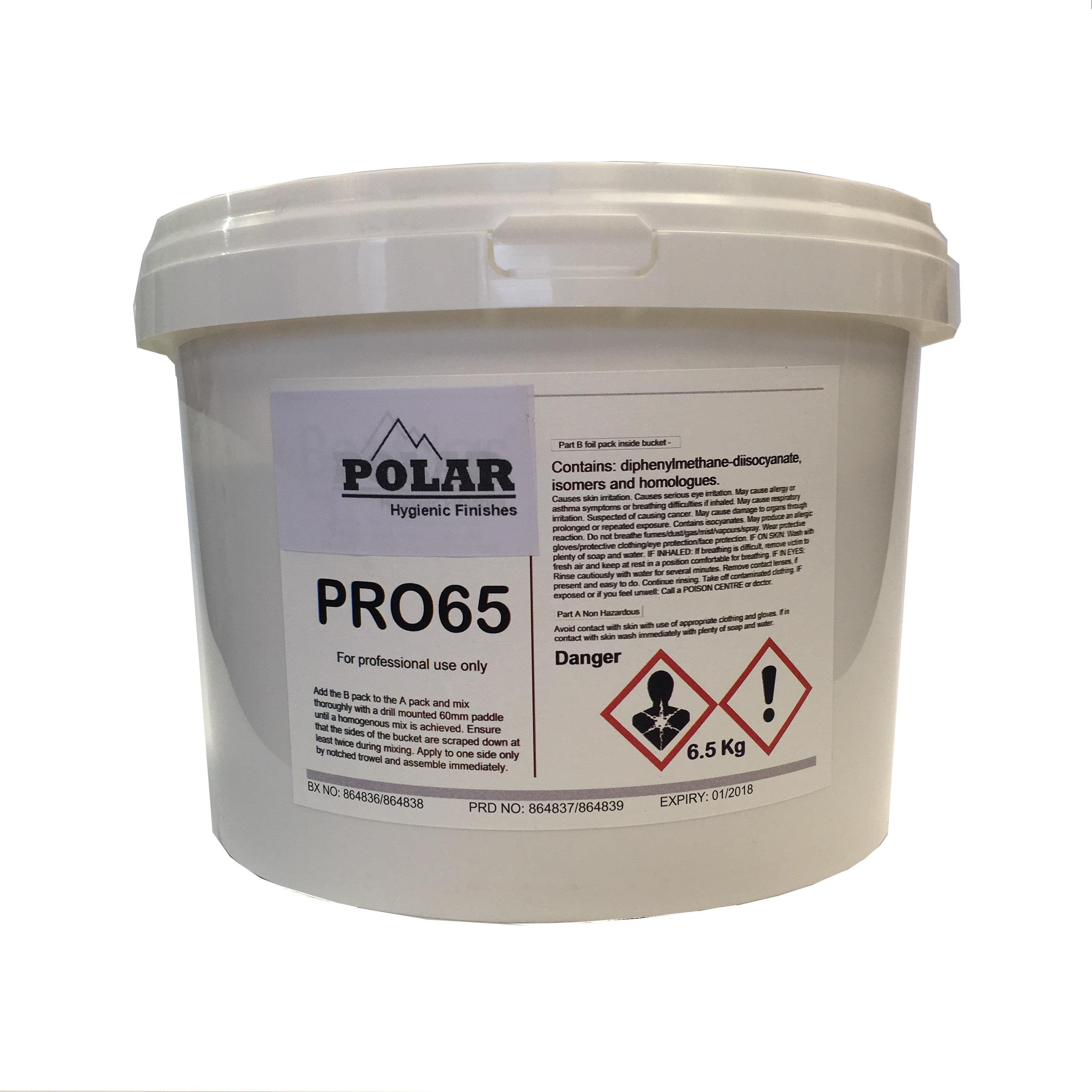 Polarex 2-Part Epoxy Adhesive for Hygienic PVC Wall Cladding