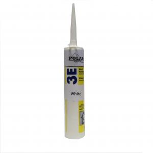 Silicone Sealant - PC001 Satin White Hygienic PVC Wall Cladding