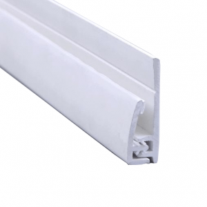 Hygienic Wall Panels - PVC Wall Cladding - Hygienic Wall Panels - Wall Cladding Sheets -Hygienic Wall Cladding Manufacturers - Buy Hygienic Wall Cladding - 2-Part End Profile for PC001 Satin White Hygienic PVC Wall Cladding Sheets