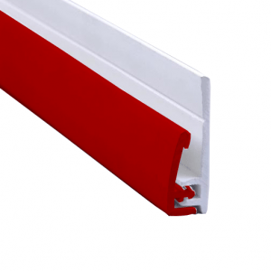 PC010 Scarlet Red 2 Part End Profile. Hygienic PVC Wall Cladding, Hygienic Wall Cladding, Hygienic Cladding, Hygienic Sheets, Hygienic Wall Panels, Hygienic Wall Cladding Manufacturers, Hygienic PVC Wall Cladding Manufacturers, Hygienic Wall Cladding Suppliers, PVC Wall Cladding, Altro Alternative , Wall Cladding Sheets, Altro Whiterock, 2.5mm Hygienic Cladding, 2.5mm Hygienic Cladding, 2.5mm Wall Cladding, 2.5mm Hygienic PVC Wall Cladding, Colour Hygienic Wall Cladding, Altro Whiterock Alternative, Whiterock Equivalent, Whiterock Alternative, 2mm Hygienic Wall Cladding, Buy Hygienic Wall Cladding