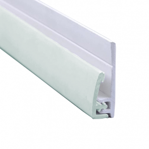 Hygienic Wall Panels - PVC Wall Cladding - Hygienic Wall Panels - Wall Cladding Sheets - Hygienic Wall Cladding Manufacturers - Buy Hygienic Wall Cladding - End Profile for PC052 Seafoam 2.5mm Antimicrobial Hygienic PVC Wall Cladding Sheets