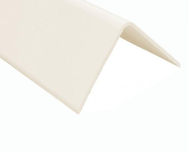 Hygienic Wall Panels - PVC Wall Cladding - Hygienic Wall Panels - Wall Cladding Sheets - PC004 Vanilla External Angle for Hygienic PVC Wall Cladding