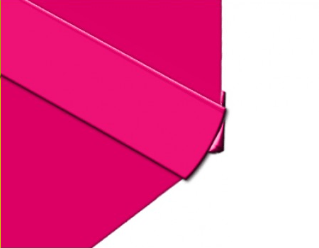 Polarex-PC009-Hot-Pink-Internal-Corner-2.5mm-Hygienic-PVC-Wall-Cladding-Installation-Photo