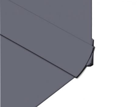 Polarex PC038 Iron External Corner Angle For 2mm Hygienic Wall PVC Cladding