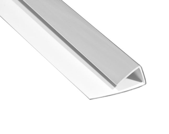 Polarex PC043 Dolomite 1-Part Edge Trim For 2mm Hygienic Wall Armour