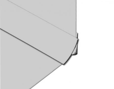 Polarex-PC002-Grey-Stone-Internal-Corner-2.5mm-Hygienic-PVC-Wall-Cladding-Installation-Photo