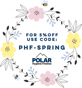 Spring Discount Code Polar Hygienic Finishes PVC Wall Cladding