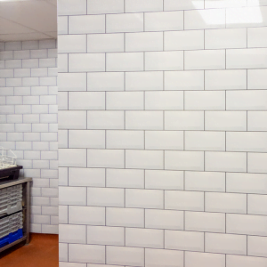 Polarex Distinctive Hygienic PVC Tile Effect Cladding, Kitchen Cladding, Bathroom Cladding