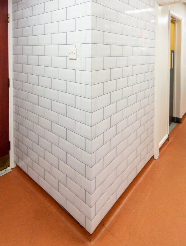 Polarex Distinctive Hygienic PVC Tile Effect Cladding